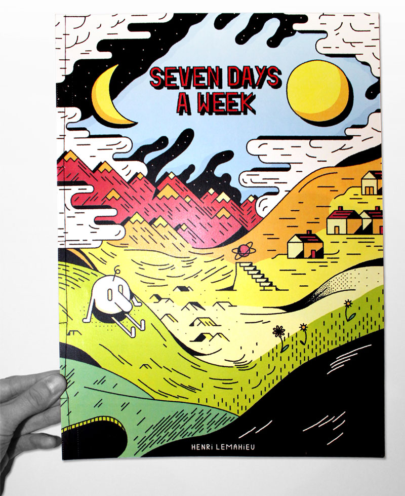 Seven days a week couverture Henri Lemahieu Fonds GrosMM pour la culture